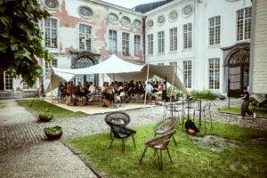 Binnentuin Design Museum Gent