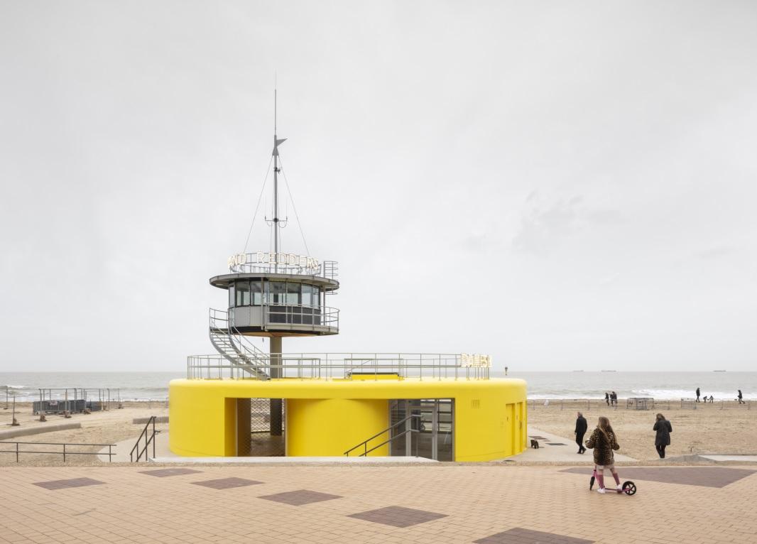 Veiligheidspaviljoen, Knokke-Heist