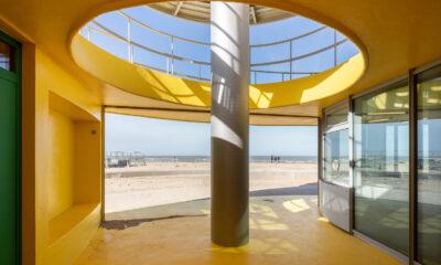 Safety pavilion, Knokke-Heist