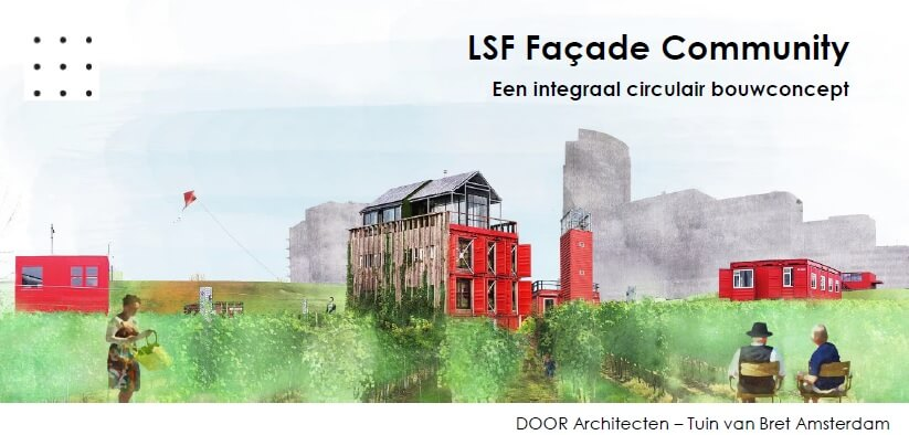 Circulaire oplossingen - LSF Facade Community