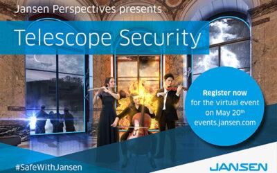 Veiligheid staat centraal in het eerste virtuele evenement van Jansen